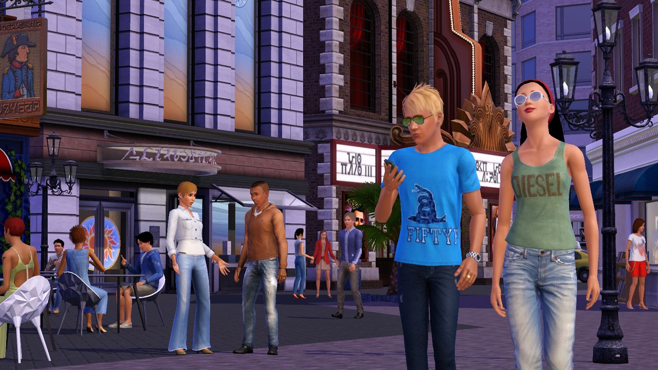 Store - The Sims 3