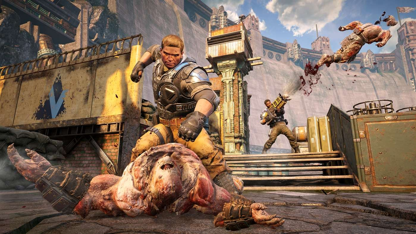 gears of war 4 xbox one play anywhere