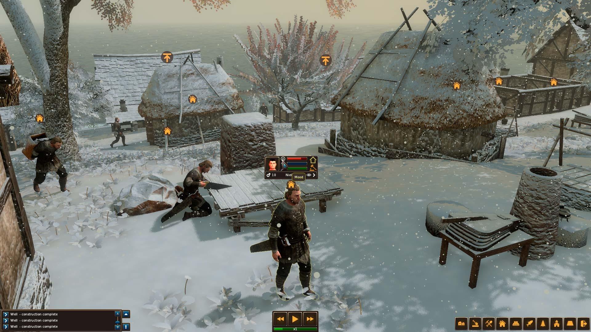 Life is feudal forest village steam ролевая игра в