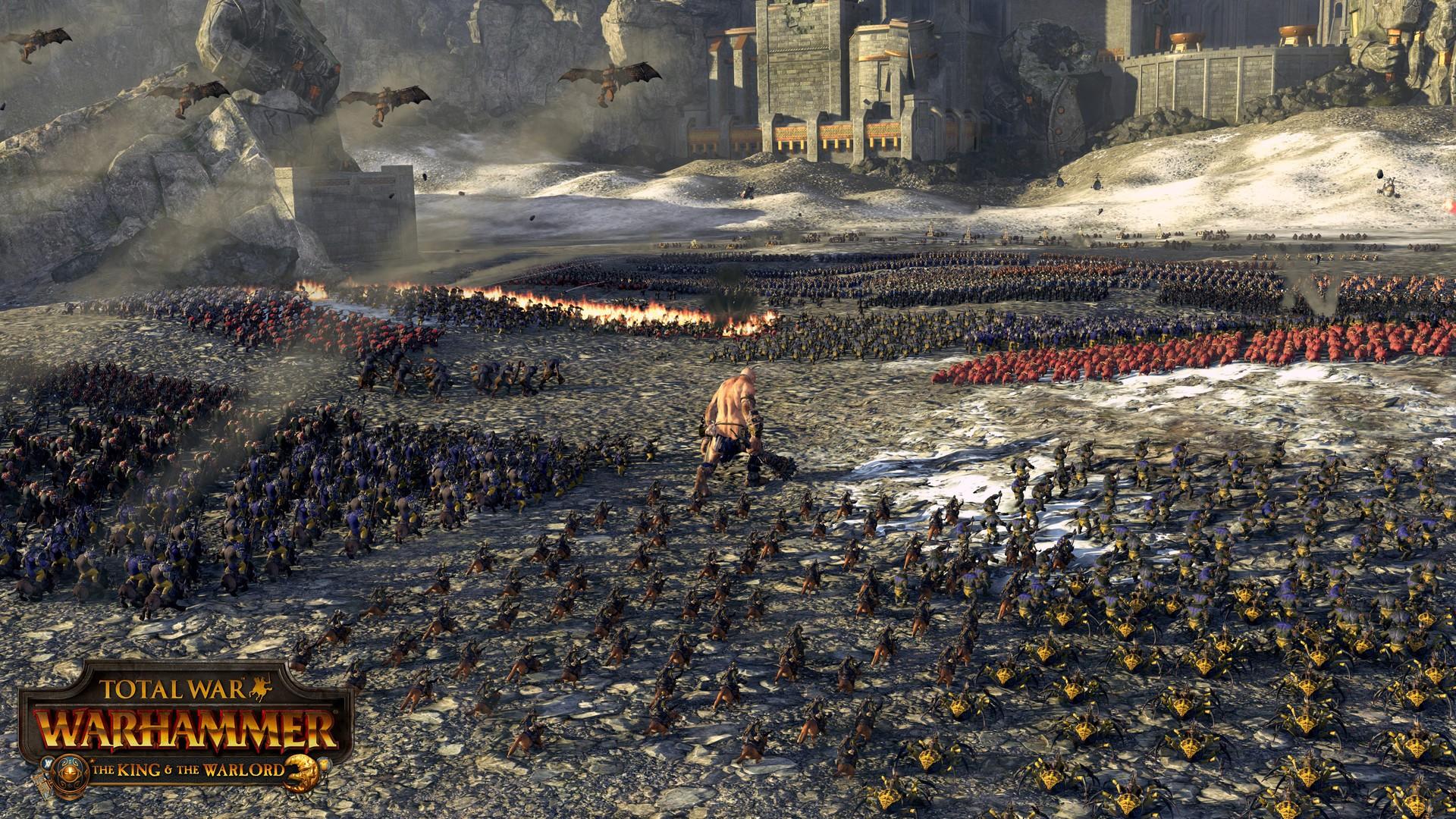 total warwarhammer how to start quest battles