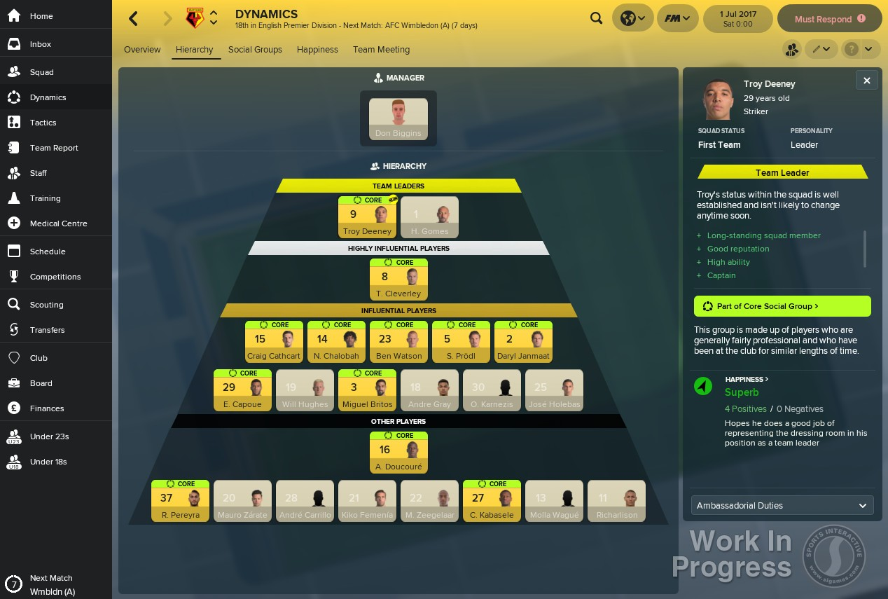 football manager 2019 transfer update