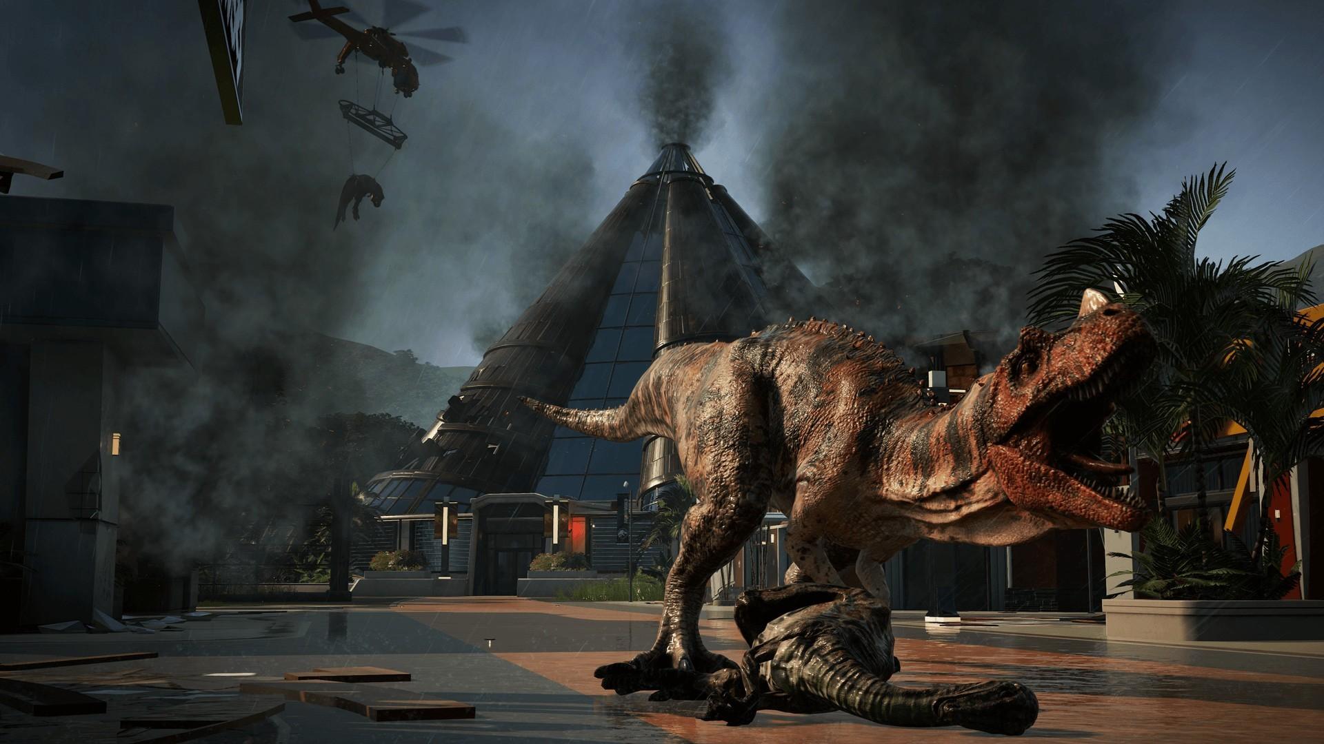 Jurassic Park Nature Finds A Way