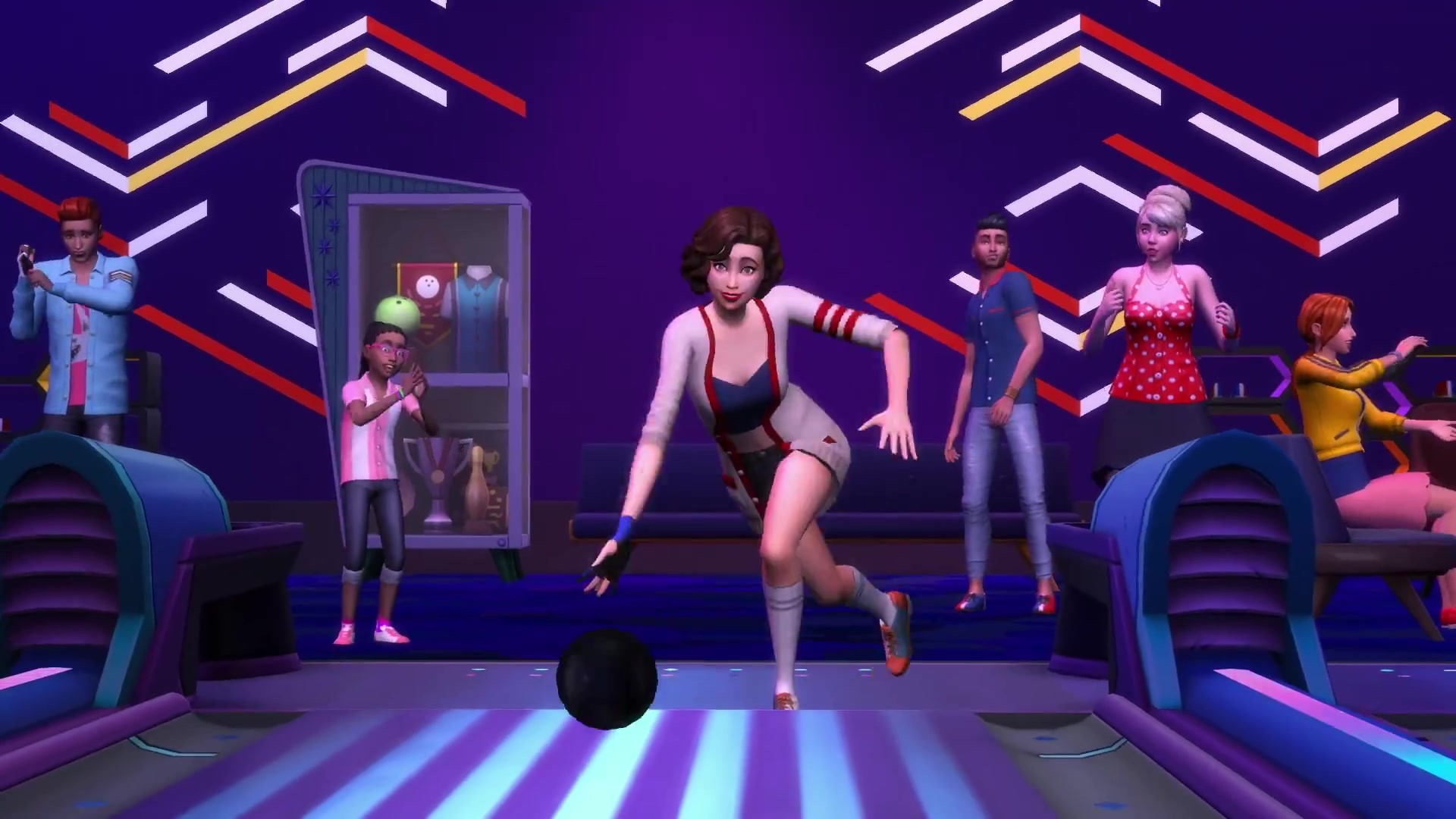 kaufen the sims 4 bowling night stuff origin. Black Bedroom Furniture Sets. Home Design Ideas