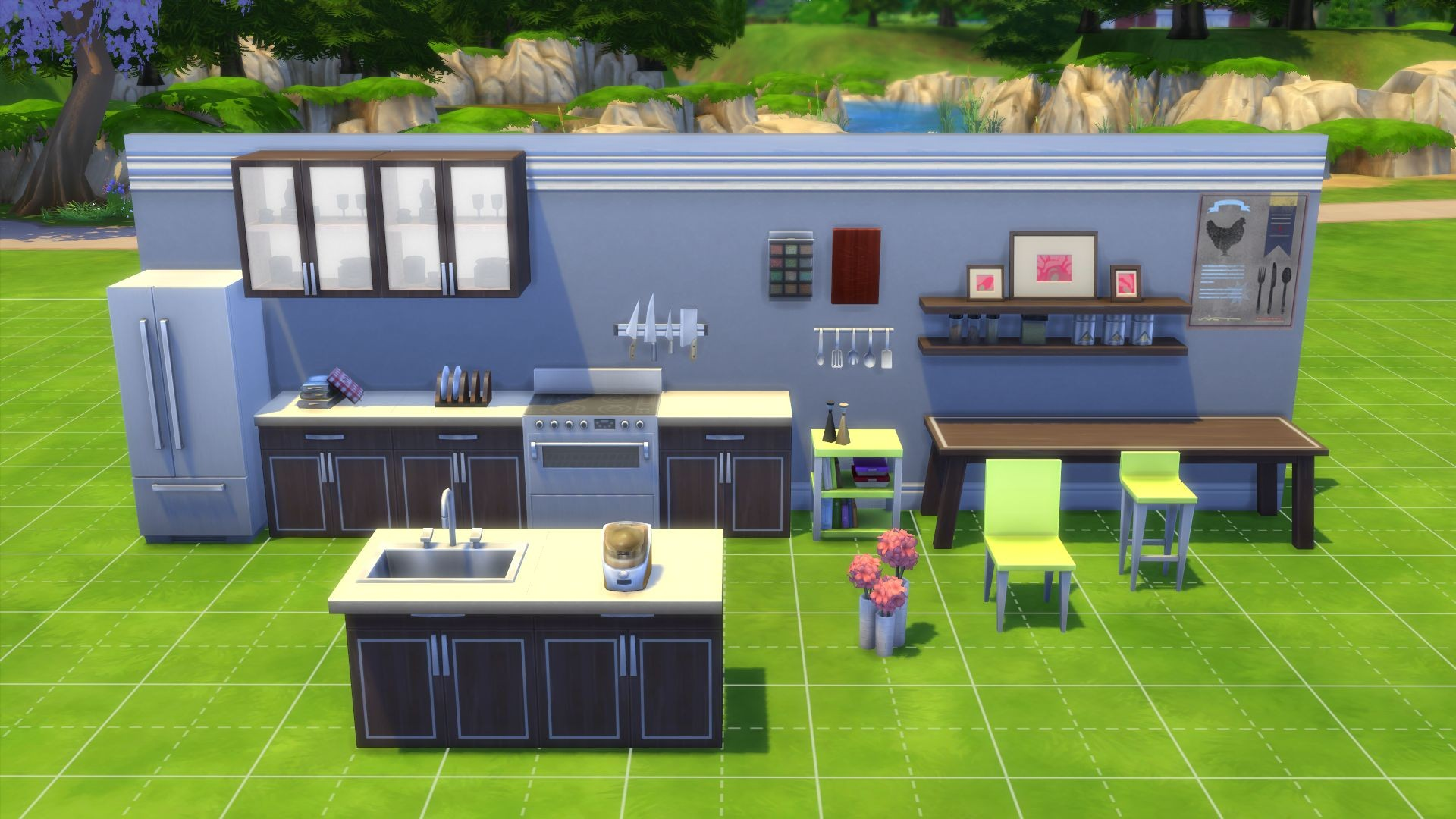 buy the sims 4 cool kitchen stuff origin. Black Bedroom Furniture Sets. Home Design Ideas