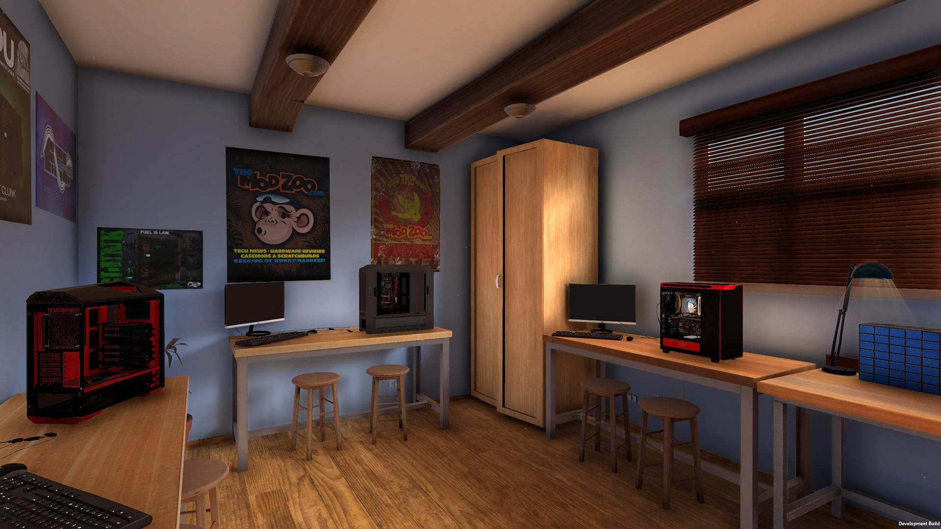 Acquista pc building simulator steam for Room decoration simulator free