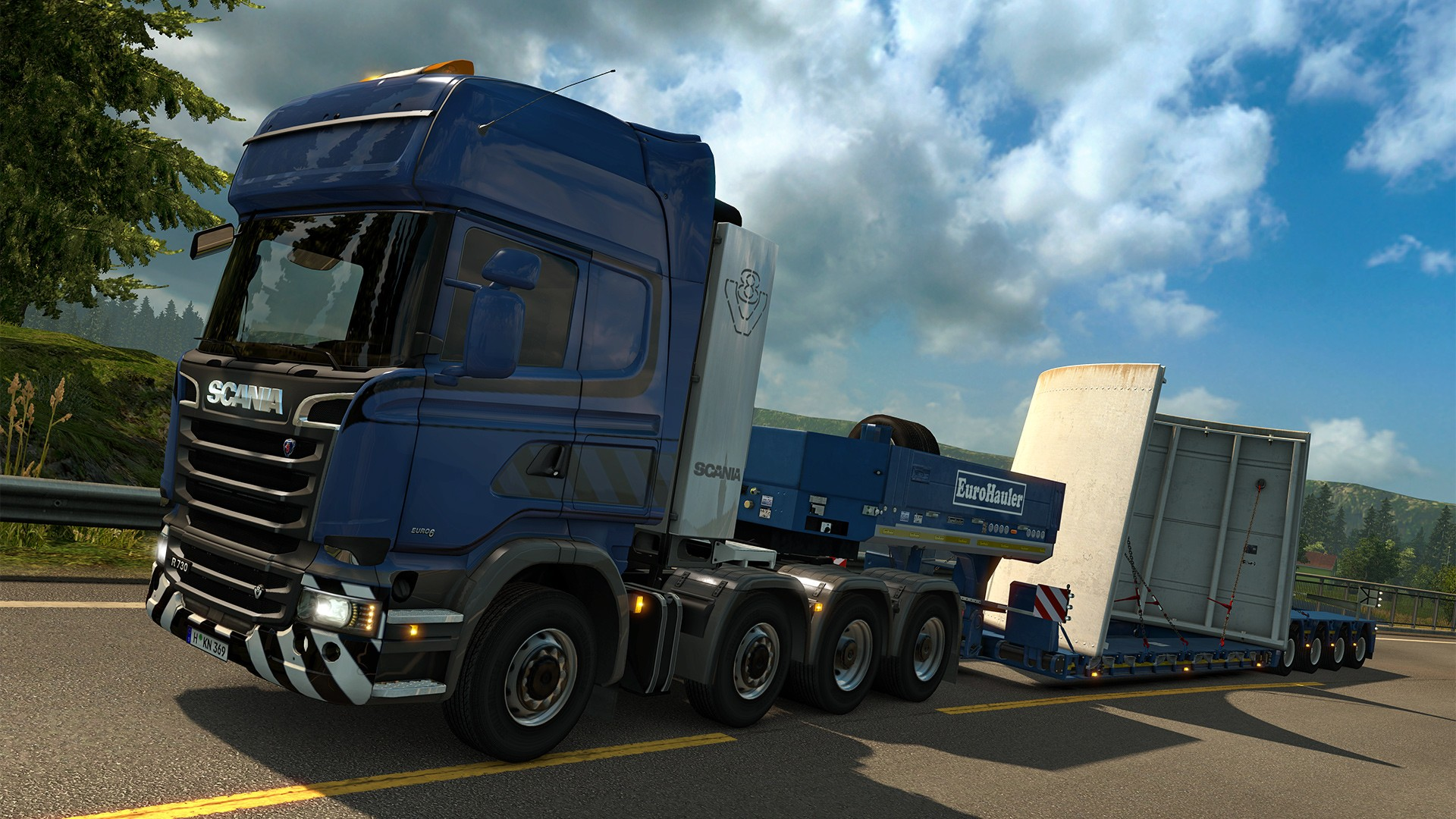 comprar euro truck simulator 2 heavy cargo pack steam. Black Bedroom Furniture Sets. Home Design Ideas
