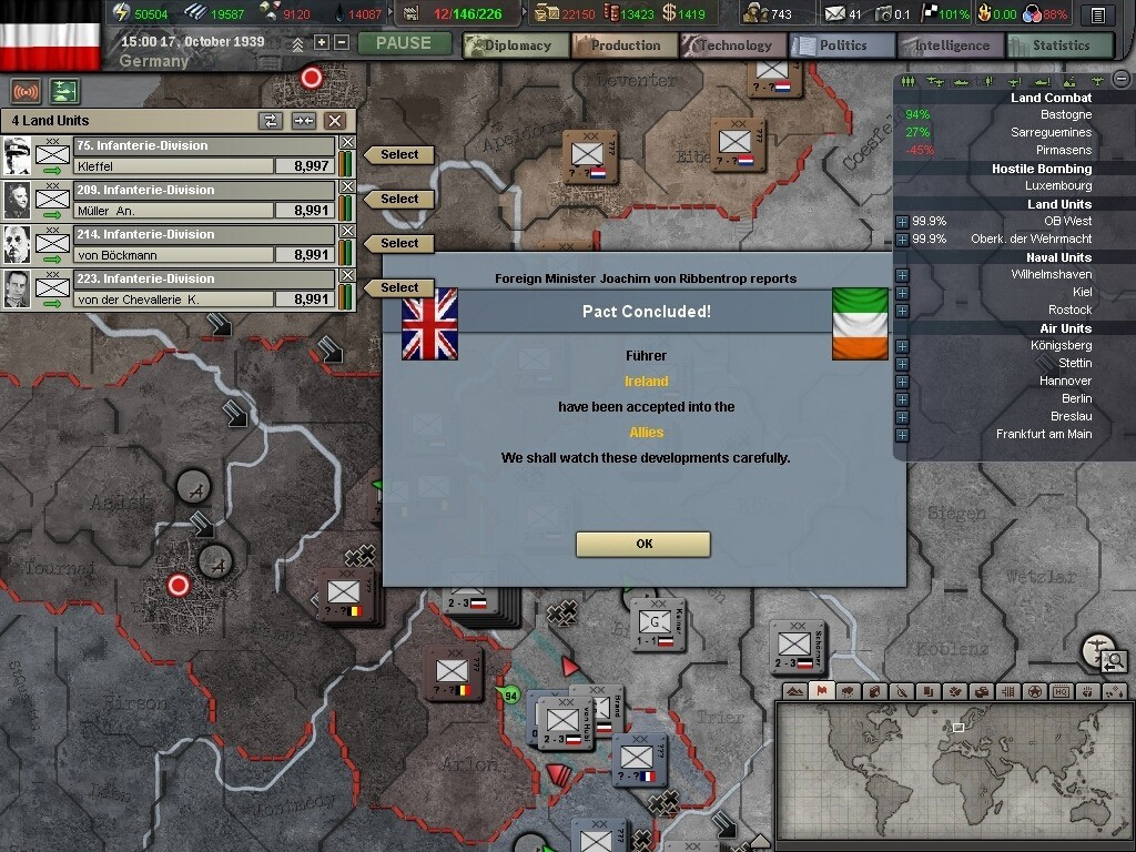 Beta 5 Release Date and main features news - Hearts of Iron III ...