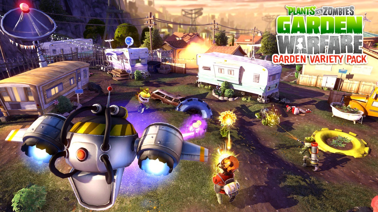 Zombies: Garden Warfare 3 Plants Vs. Zombies: Garden Warfare 4 ...