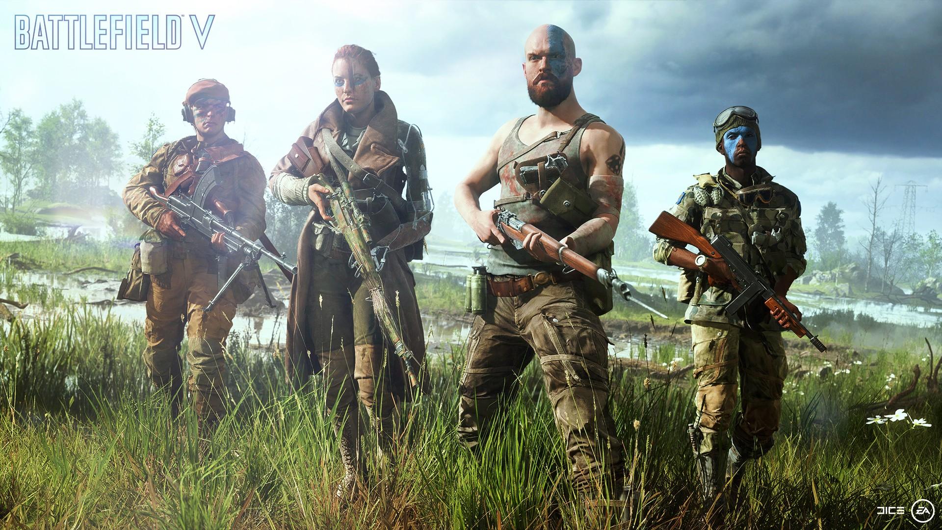 Battlefield V | خرید سی دی کی و نسخه اورجینال بازی - ایران استیم